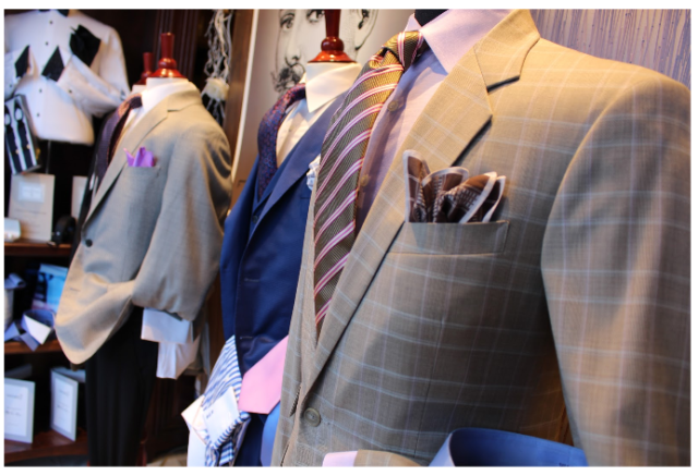 Perfect look with bespoke clothing