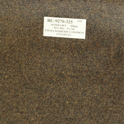 Vitale Barberis Canonico Jacket - Brown Tweed Design
