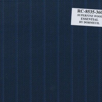 Dormueil Suit Blue Electric with Stripe