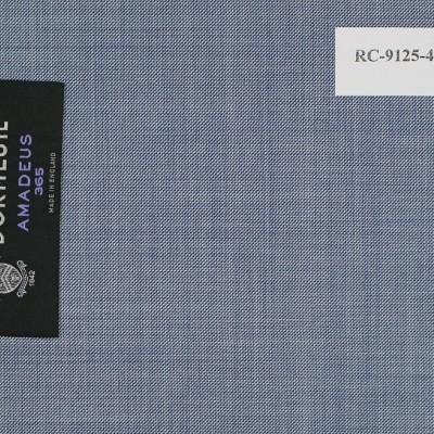 Dormeuil Light Blue Solid Suit