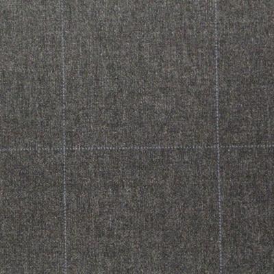 Grey Suit with blue plaids, Valemntino Garavani, Thread Count superfine 120's