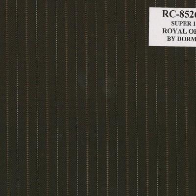 Dormueil Suit  Brown Stripe Royal Optima