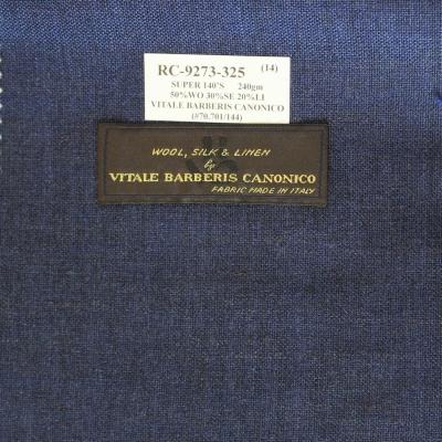 Vitale Barberis Canonico Jacket - Blue Texture