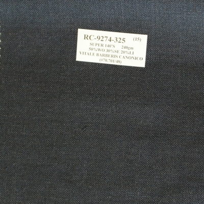 Vitale Barberis Canonico Jacket - Black Texture