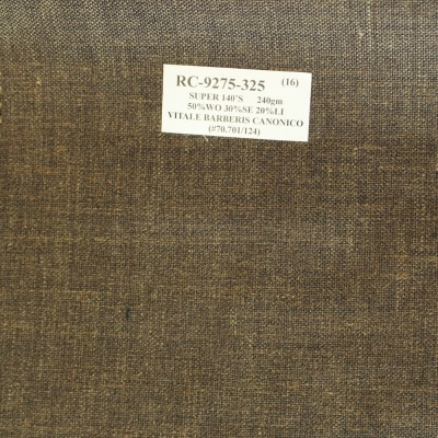 Vitale Barberis Canonico Jacket - Brown Texture