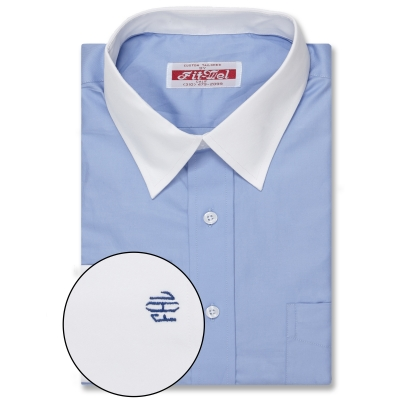 Real Clothes Shirt Blue Solid REG. PRICE $149 SALE PRICE $129
