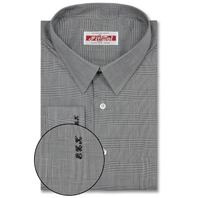 Thomas Mason Shirt Grey Check REG. PRICE $149 SALE PRICE $129