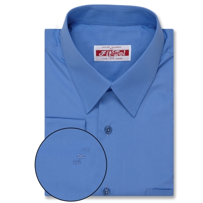 Real Clothes shirt Blue Shirt REG. PRICE $149 SALE PRICE $129