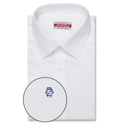 Real Clothes Shirt White on white design REG. PRICE $149 SALE PRICE $129