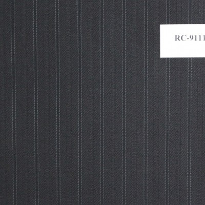 Dormeuil Black with green stripe Suit RC-9111-448