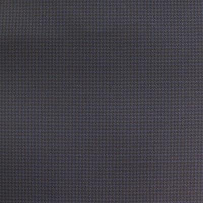 LORO PIANA SUIT NAVY BLUE HOUNDSTOOTH DESIGN