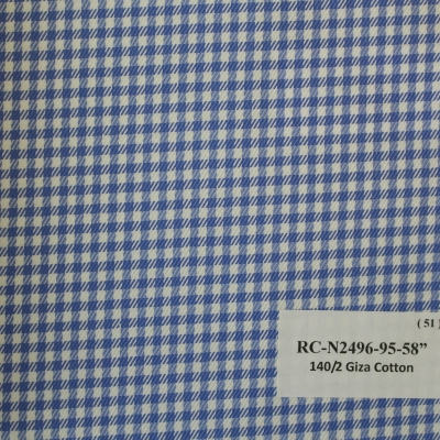 Real Clothes Shirt Blue checks design