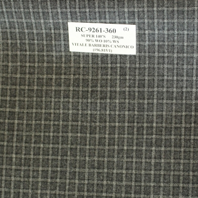 Vitale Barberis Canonico Jacket Grey Check REG. price $690 Sale Price $495