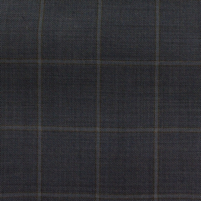 LORO PIANA SPORT COAT BLUE WITH TAN CHECK