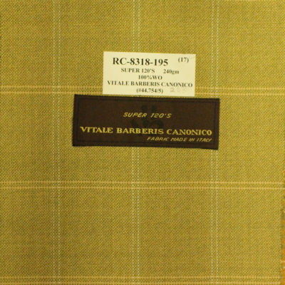 VITALE BARBERIS CANONICA Sport Coat Lt. Green REG. price $690 Sale Price $495