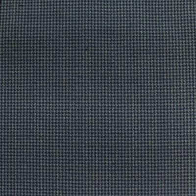 LORO PIANA SUIT BLUE HOUNDSTOOTH DESIGN