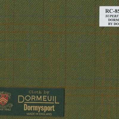 Dormueil Sport Coat Green Military, 100% Worsted Wool, 255 gm/m