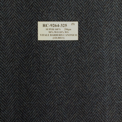 Vitale Barberis Canonico Jacket Blue Herringbone REG. price $690 Sale Price $495